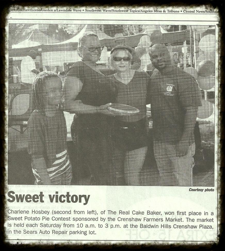 Crenshaw Farmers' Market Pie Contest / L.A. Wave Newspaper 2012
