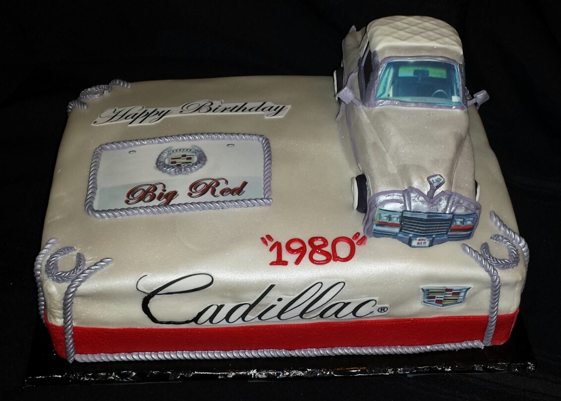 Cadillac Birthday Cake Los Angeles